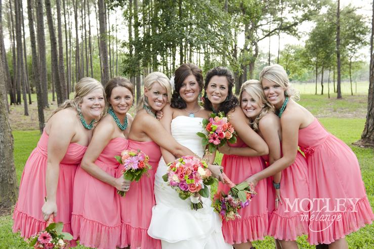 Coral Country Wedding Photos Crystal Springs Shelly Brandon