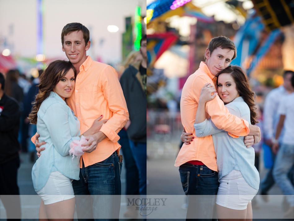 Houston Wedding Photographer Carnival Engagement
