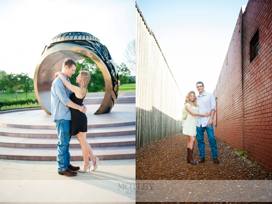 country themed engagement houston