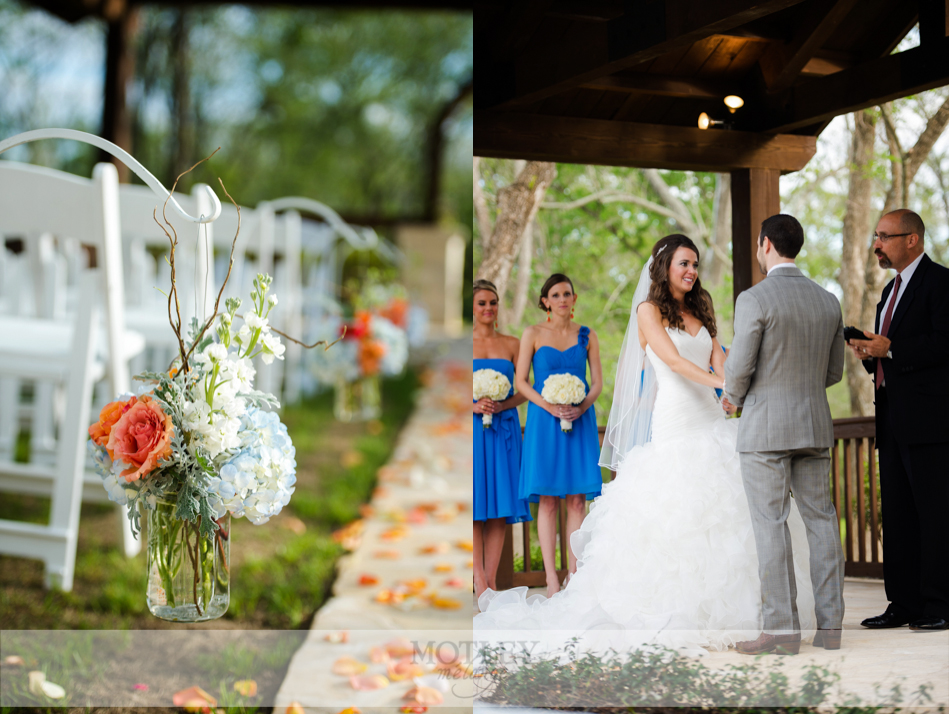 wedding at pecan springs