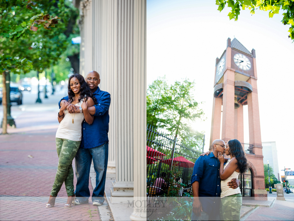 downtown houston engagement