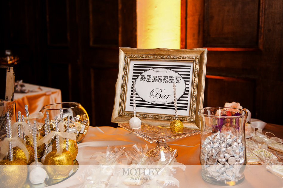 glitter and glam wedding