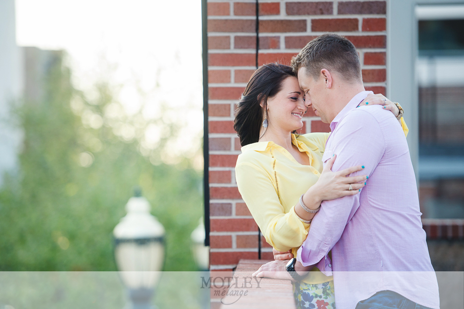 Downtown Houston Engagement Photographer