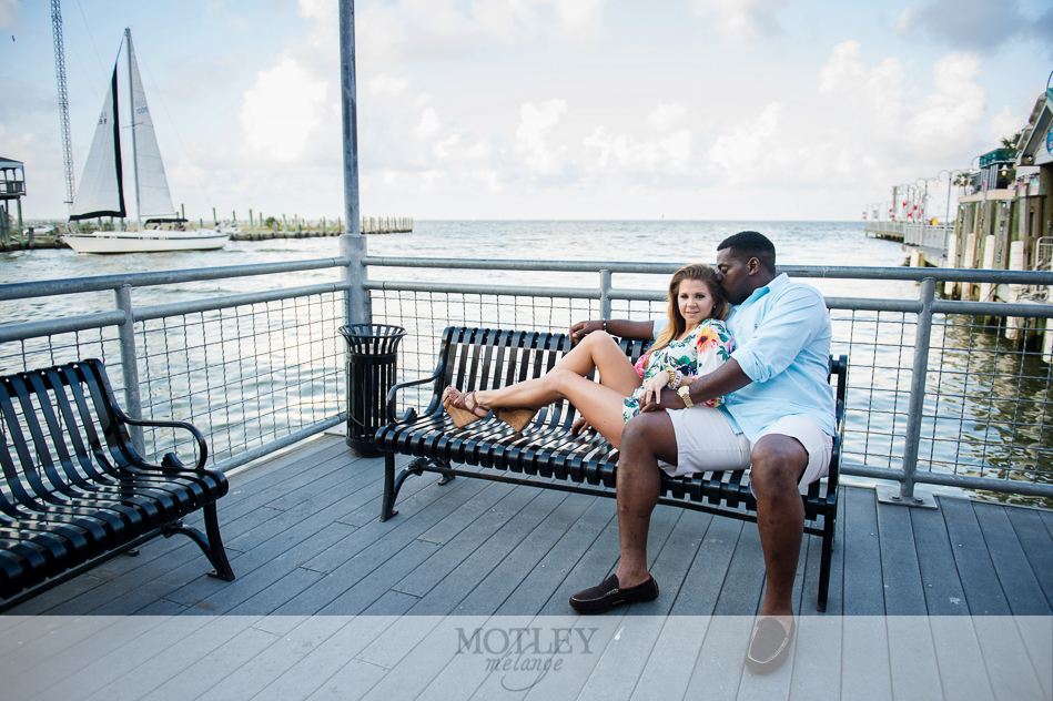 Kemah boardwalk wedding