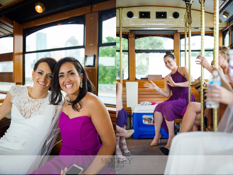wedding-trolley-downtown-houston