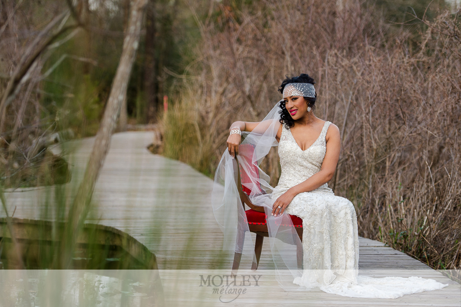 gatsby inspired styled bridal session