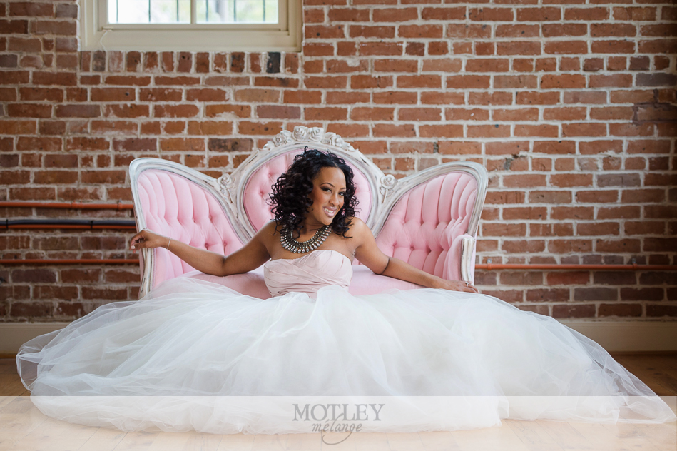 station 3 bridal portraits