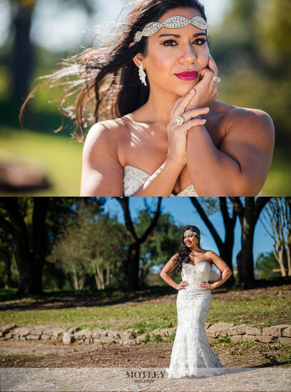 sugar creek country club wedding glamorous bride