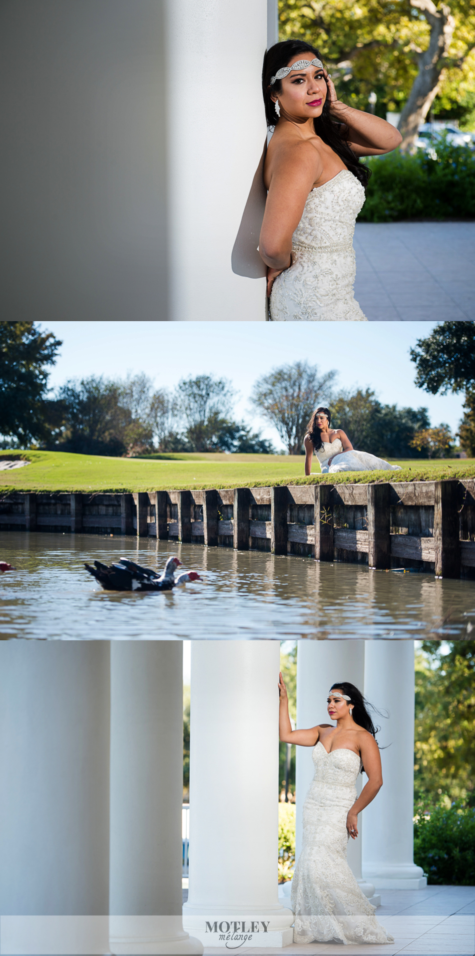 sugar creek country club wedding glamorous bride