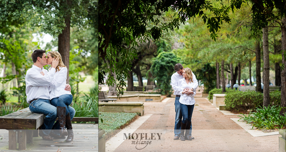 overcast engagement photos in houston