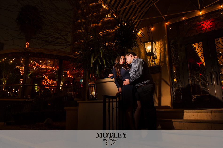 engagement photos at hotel zaza
